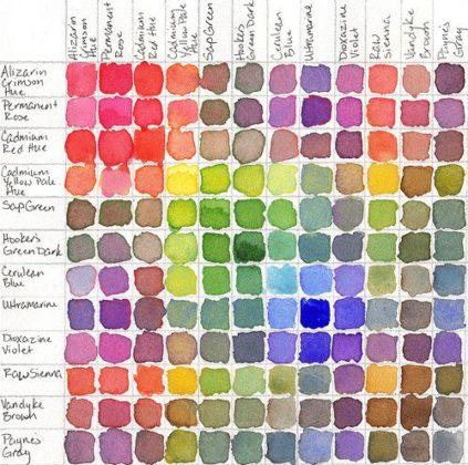 Как сделать на палитре цвет 362