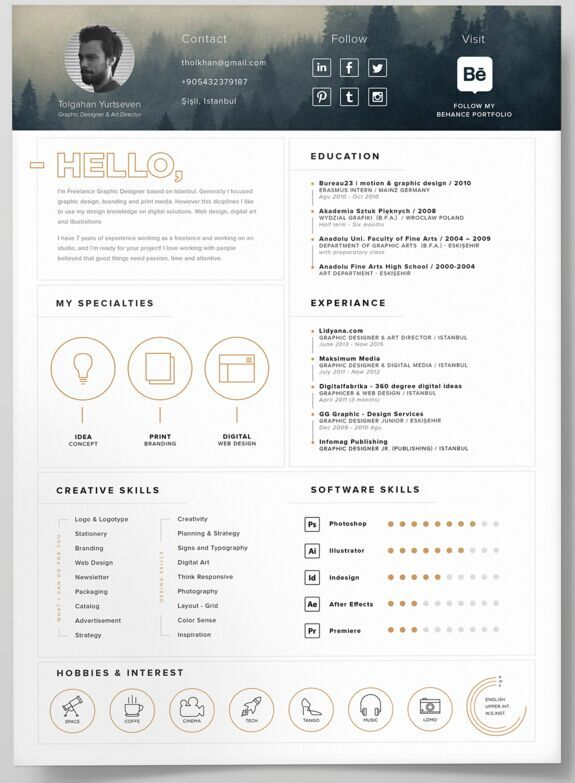 Business infographic 130 new fashion resume cv templates for business infographic data visualisation wajeb Choice Image