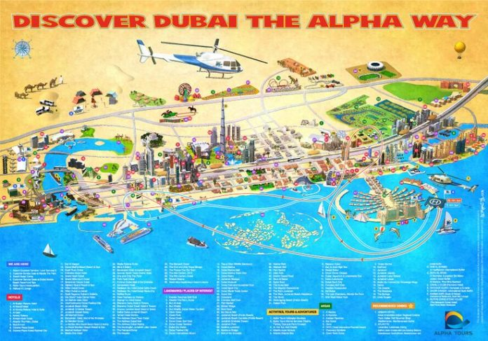 Travel infographic uae dubai metro city streets hotels for Dubai hotels list