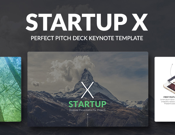Discover Startup X Perfect Pitch Deck Powerpoint