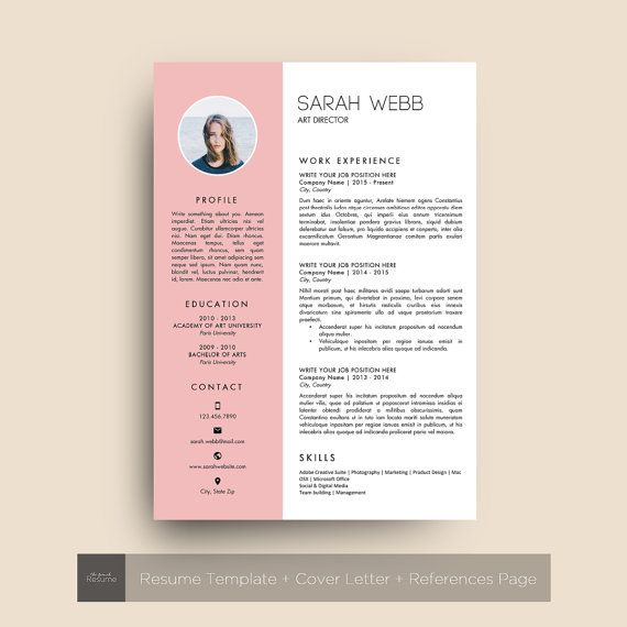 Business Infographic Design Resume Template Cv Cover Letter