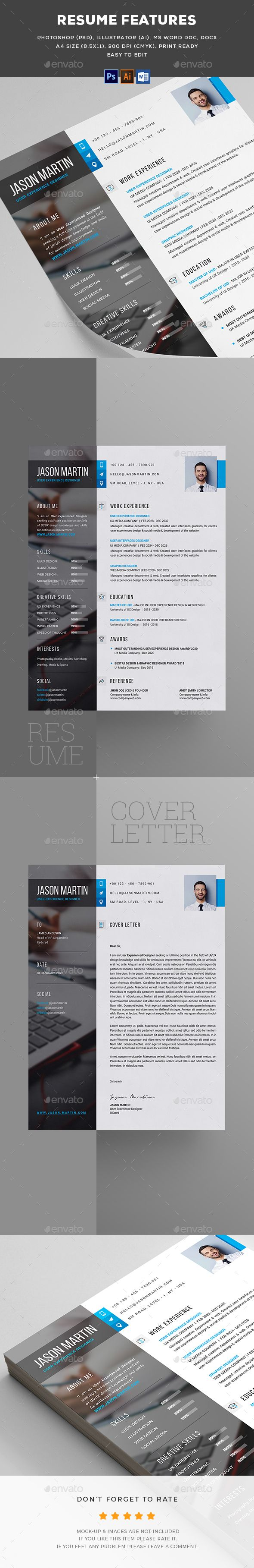 business infographic   resume