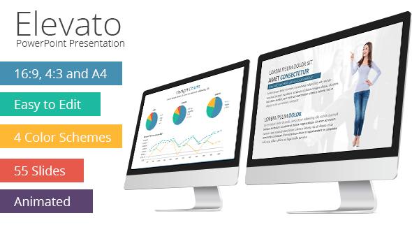 Presenta Power PowerPoint Template - 1