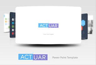 Actuar Power Point Presentation Template - 5
