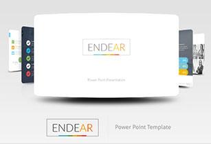 Actuar Power Point Presentation Template - 6