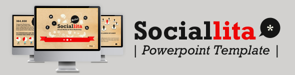 SocialDecks Powerpoint Template - 2
