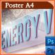 Energy Villa - Poster Template