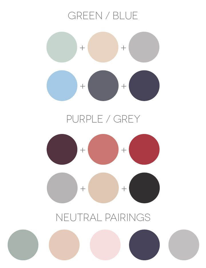 Psychology color combinations Color combinations numbers