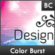 Color Burst Business Card - GraphicRiver Item for Sale