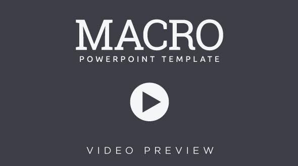 Macro Video Preview