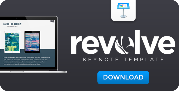 Revolve Keynote Template