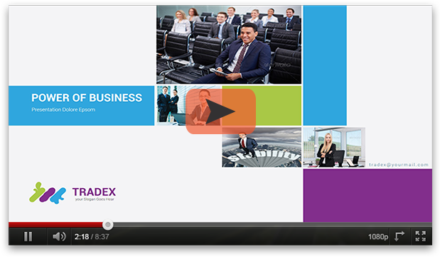 Tradex Powerpoint Template - 1