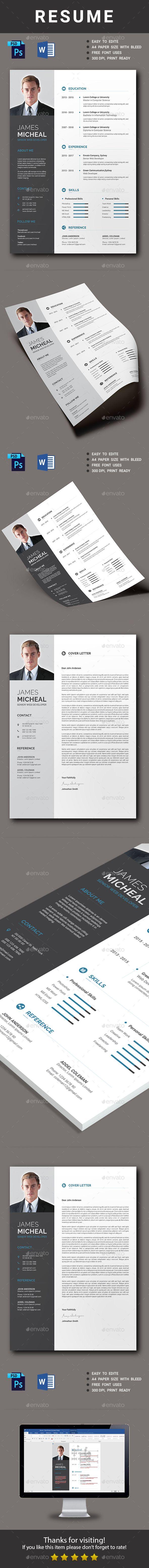 Description  Net Resume