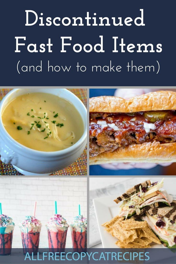 Fast food description