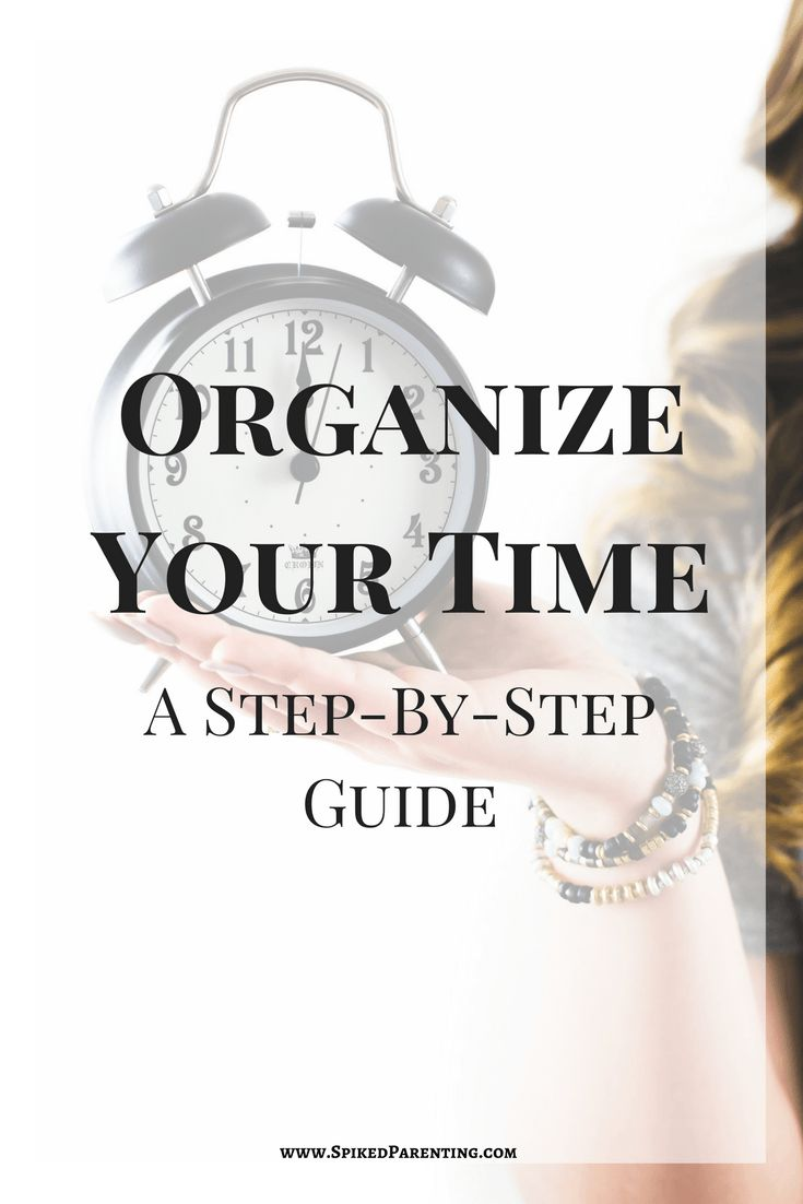 Your Step By Step Guide To The: Management : Organize Your Time