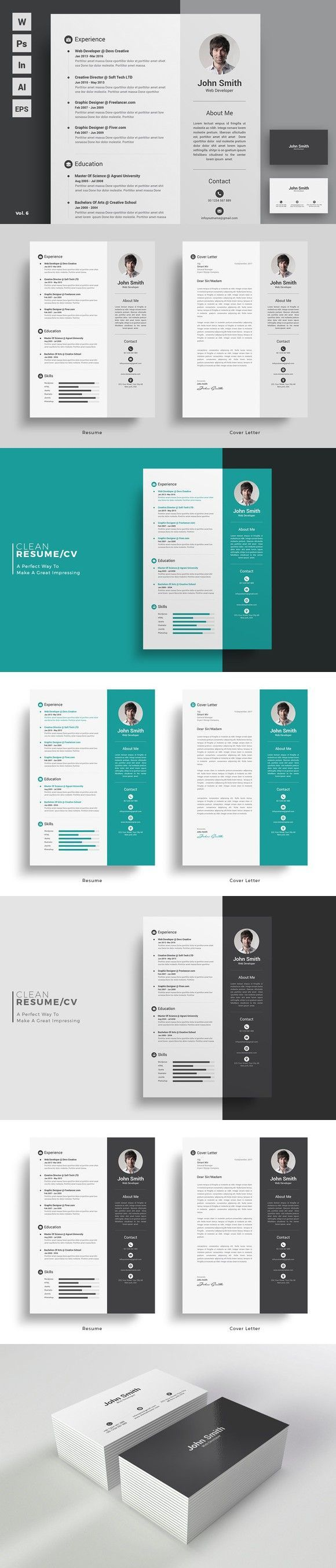 business infographic   business infographic   resume cv