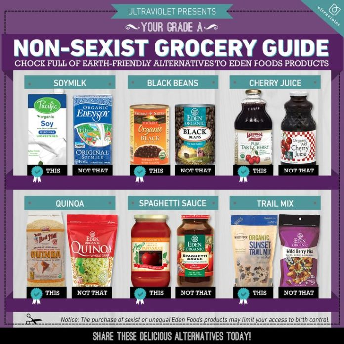 Food infographic ultraviolet how sexist is your quinoa for X uv cuisine