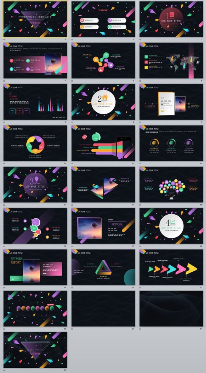 business infographic 25 business colour creative powerpoint