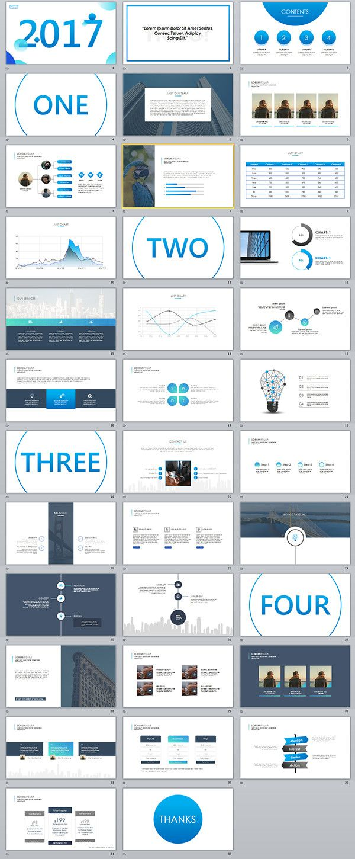 Business infographic 35 best blue business powerpoint templates description 35 best blue business powerpoint templates toneelgroepblik Gallery