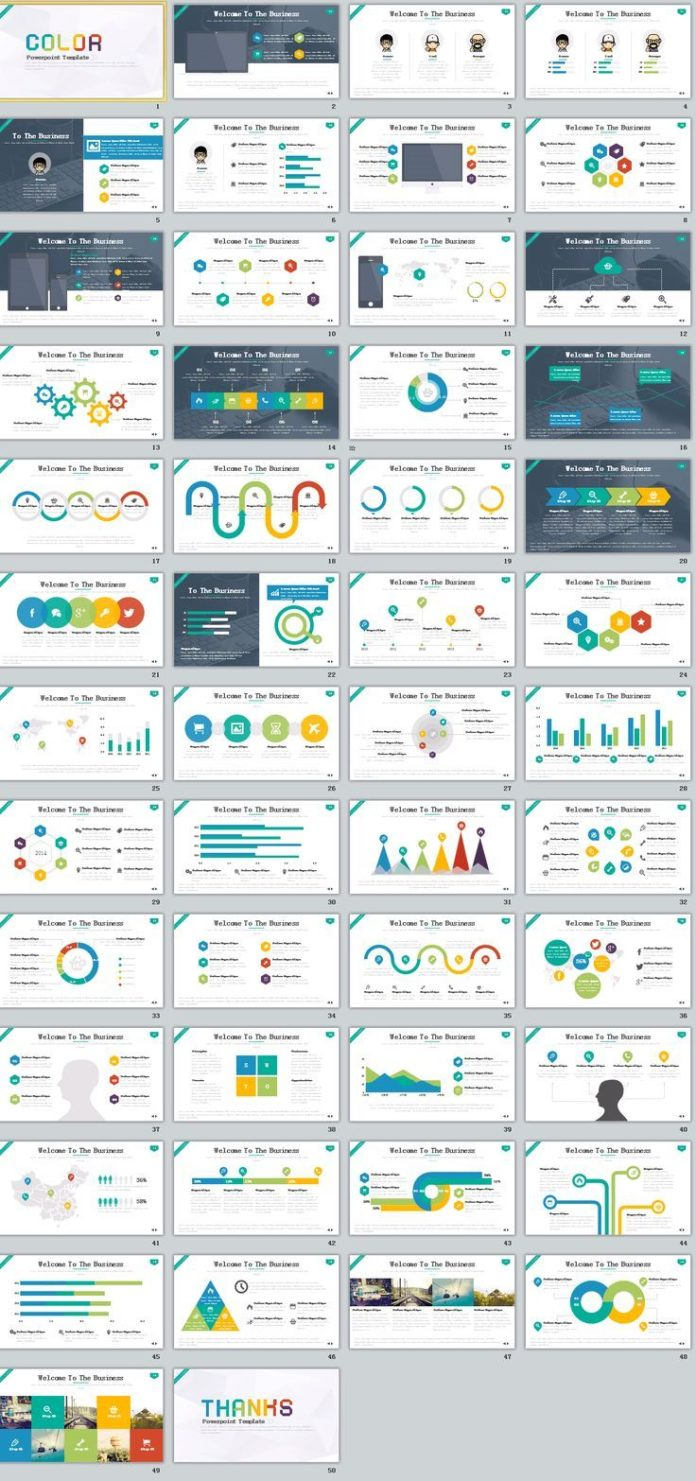 Business infographic business infographic 50 best business business infographic data visualisation flashek Image collections