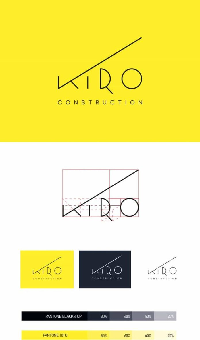Business Infographic Construction Logo Design Inspiration