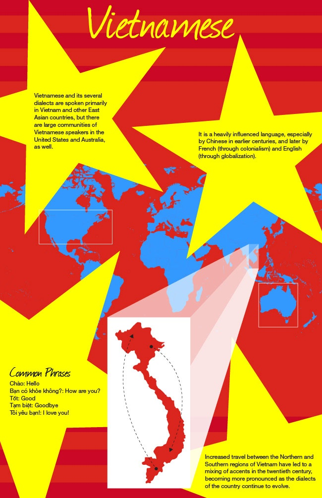 Educational infographic : Vietnamese Language Infographic www ...