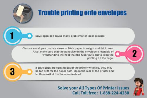 Envelope Printing trouble in Laser Printer via @    - InfographicNow