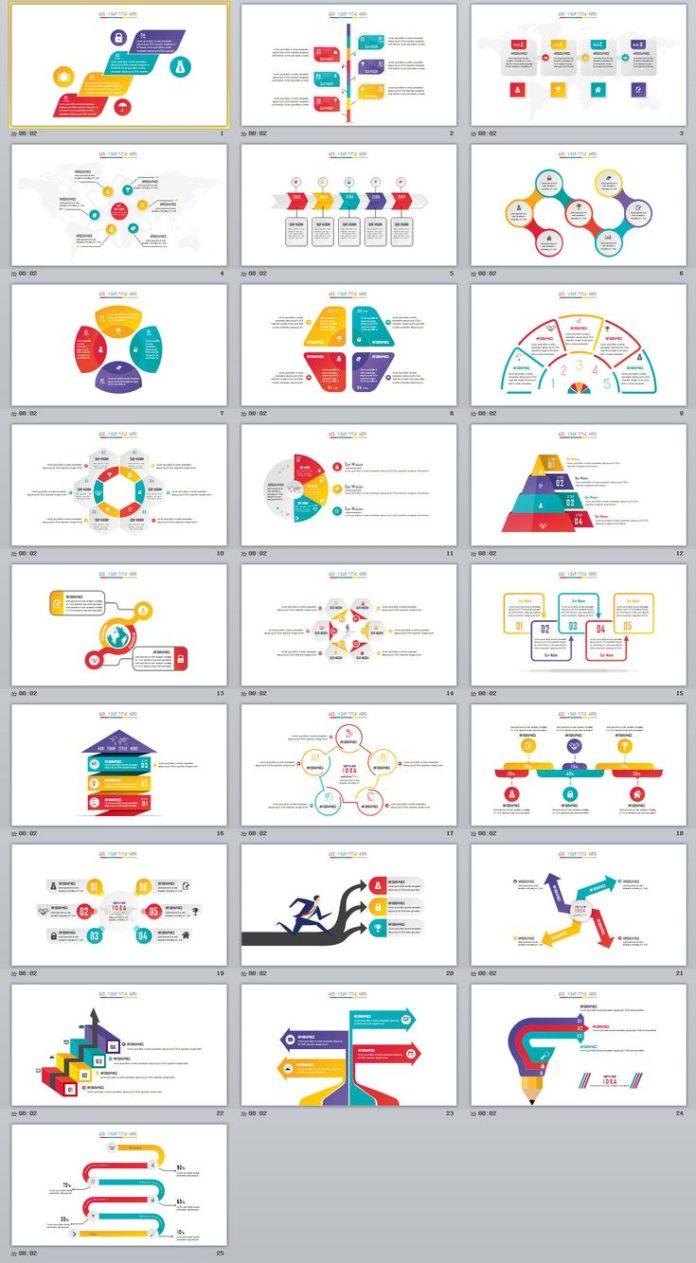 Business infographic 25 creative charts powerpoint template business infographic data visualisation toneelgroepblik Images