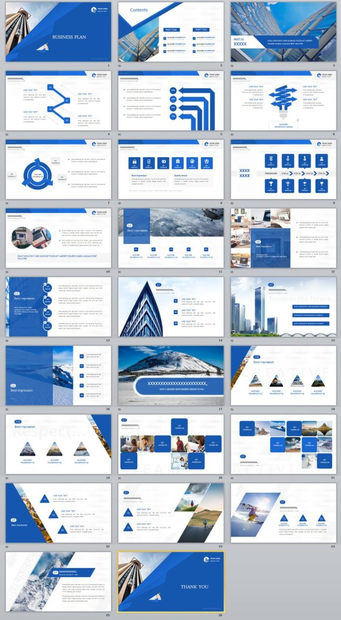 Business infographic 26 blue creative business plan powerpoint business infographic data visualisation friedricerecipe Image collections
