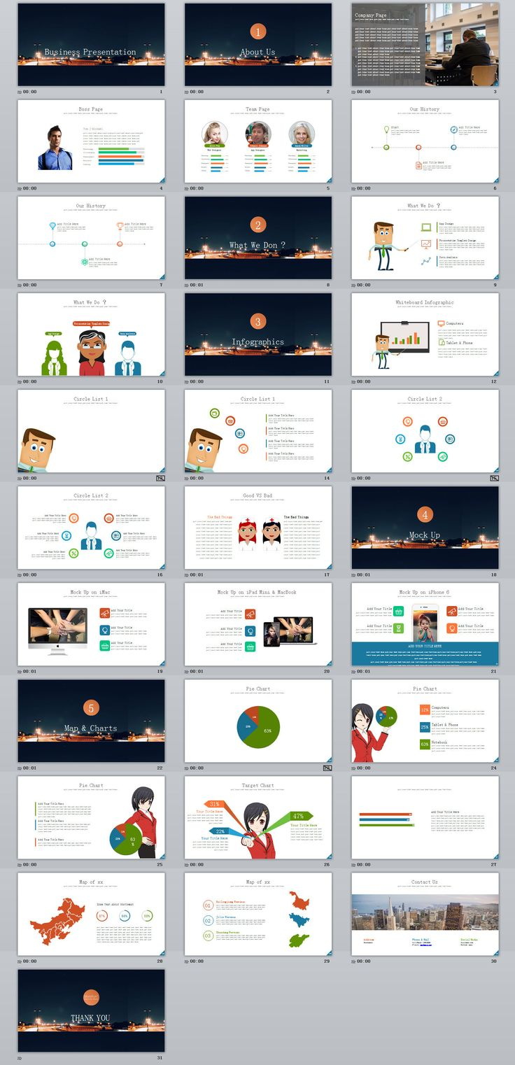 50+ Free and Premium Keynote Presentation Templates