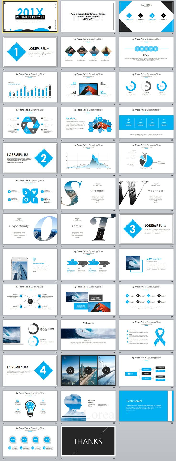 business infographic 38 best blue business annual report powerpoint template powerpoint templates