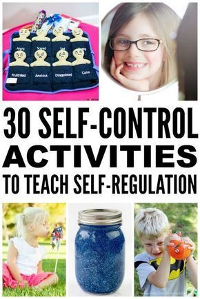 Management : Looking for self-control activities for kids? We've