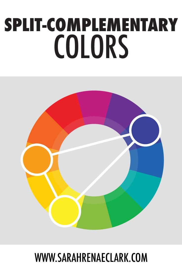 Psychology Split Complementary Colors This Color Scheme Is A Variation Of The Complementar Infographicnow Com Your Number One Source For Daily Infographics Visual Creativity