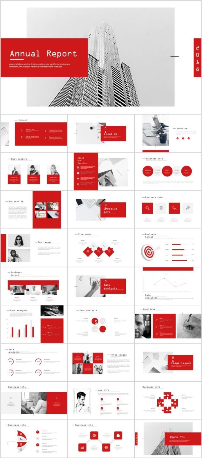 business infographic 28 best company annual report charts