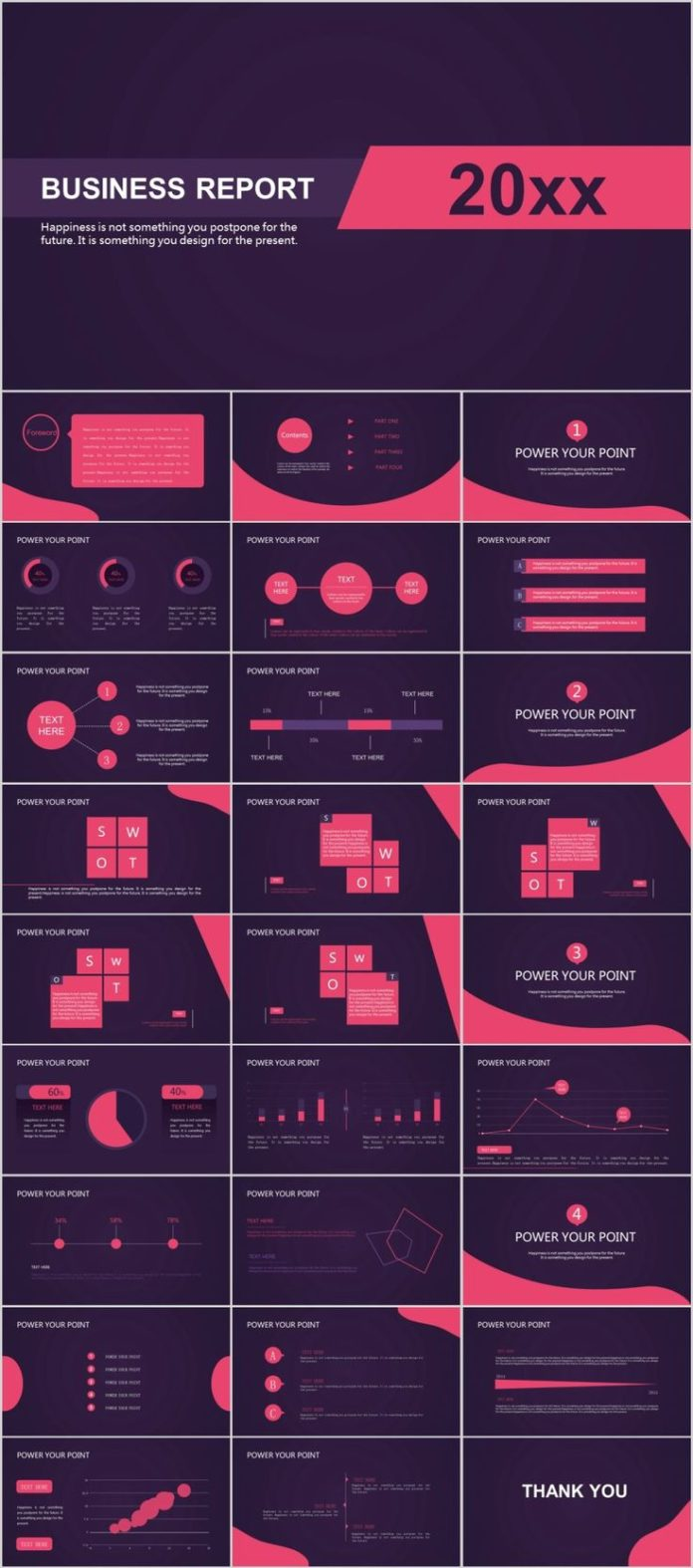 Keynote Template For Powerpoint | Business Infographic 28 Best Red Swot Business Keynote Template