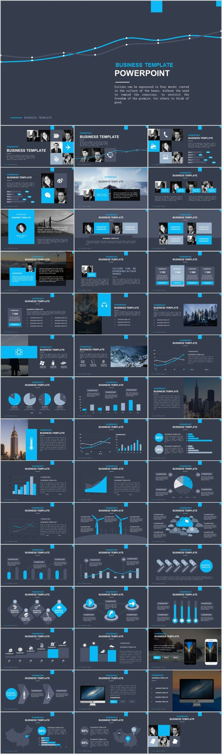 business infographic 46 best business chart keynote template