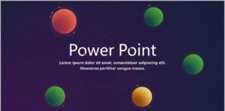business infographic 22 cosmic stereoscopic dynamic powerpoint