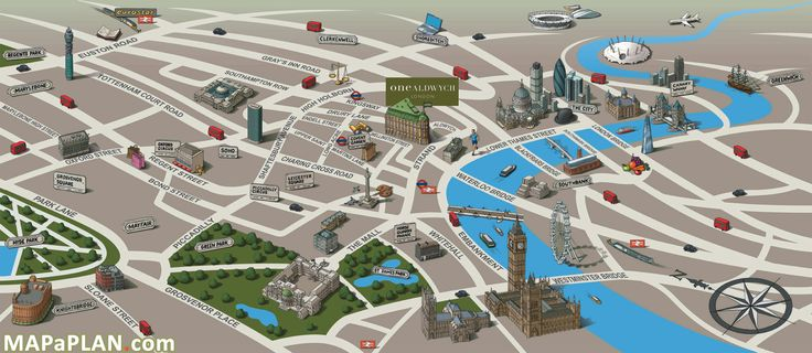 London Landmarks Map.Travel Infographic London Top Tourist Attractions Map 05 Landmarks
