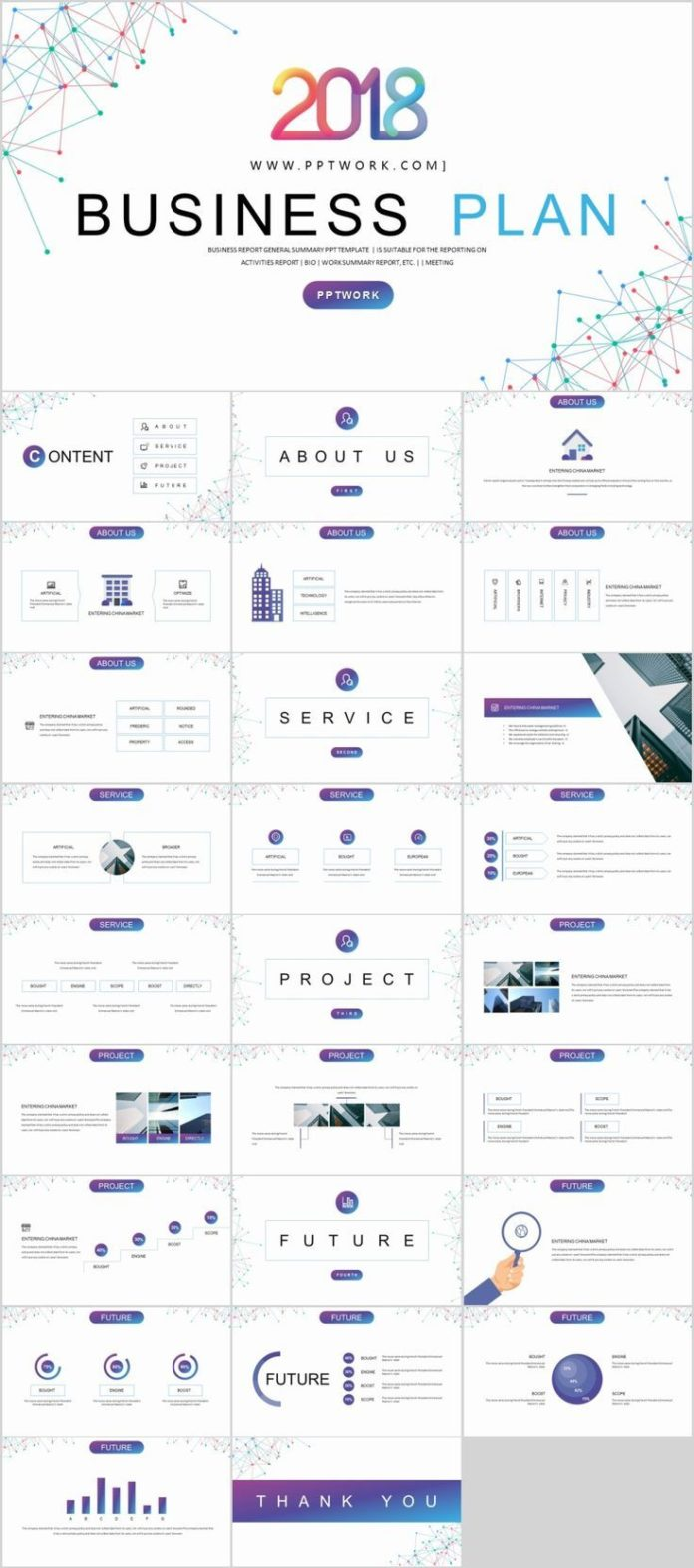 Business Infographic 27 Best Business Plan Creative Powerpoint