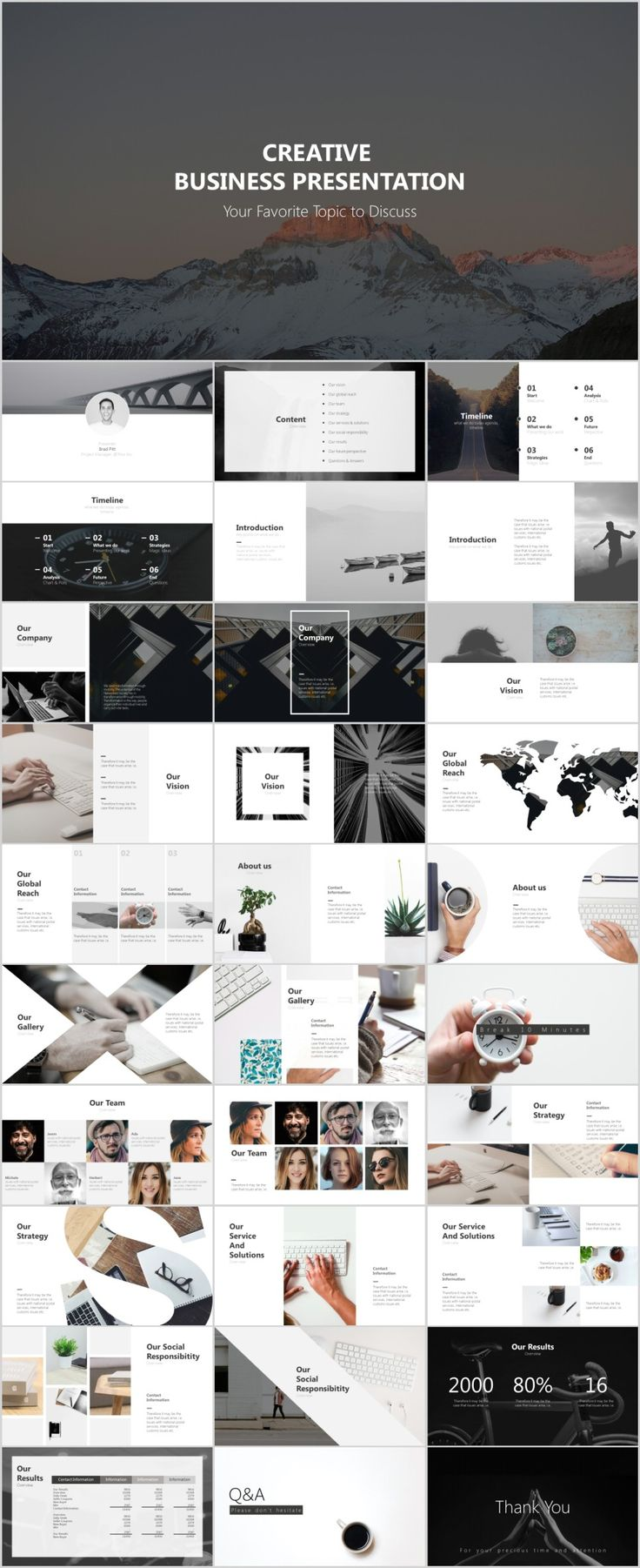 Business infographic 30 gray creative business design powerpoint description 30 gray creative business design powerpoint templates wajeb Choice Image