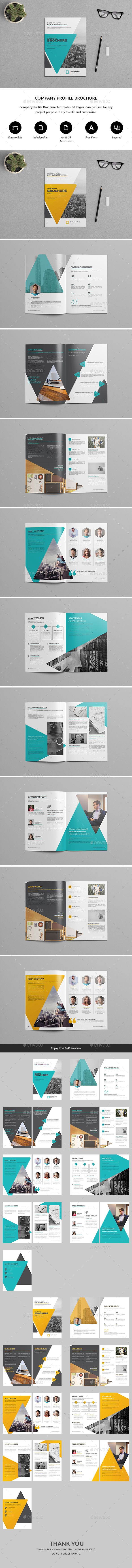 Business Infographic Company Profile Brochure Template Indesign