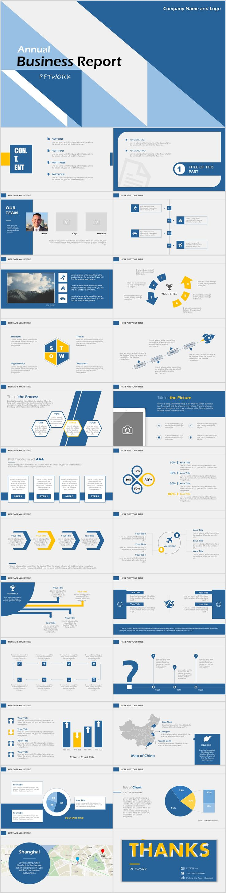 Business infographic simple annual business report powerpoint description simple annual business report powerpoint template accmission Gallery