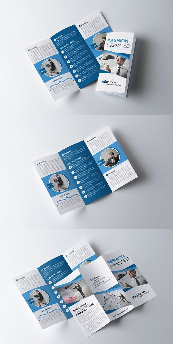 medical infographic business trifold brochure template medical