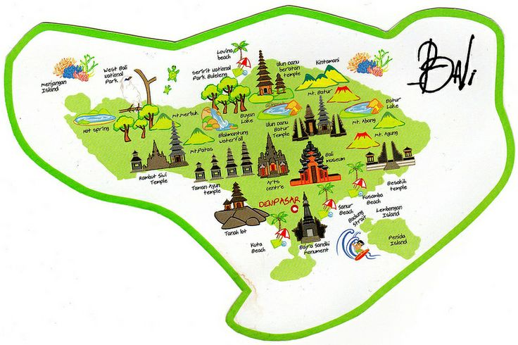 Travel infographic - Bali map - InfographicNow.com | Your ...