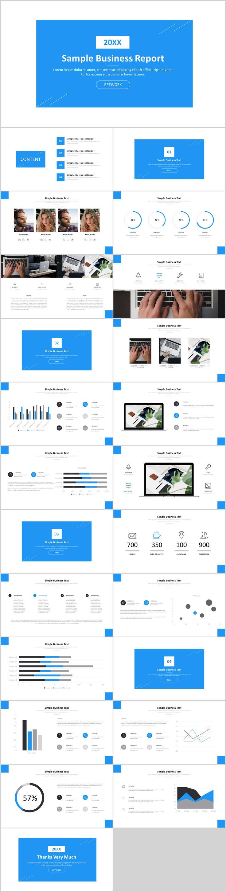 Business infographic 24 simple business powerpoint template on description 24 simple business powerpoint template flashek Choice Image