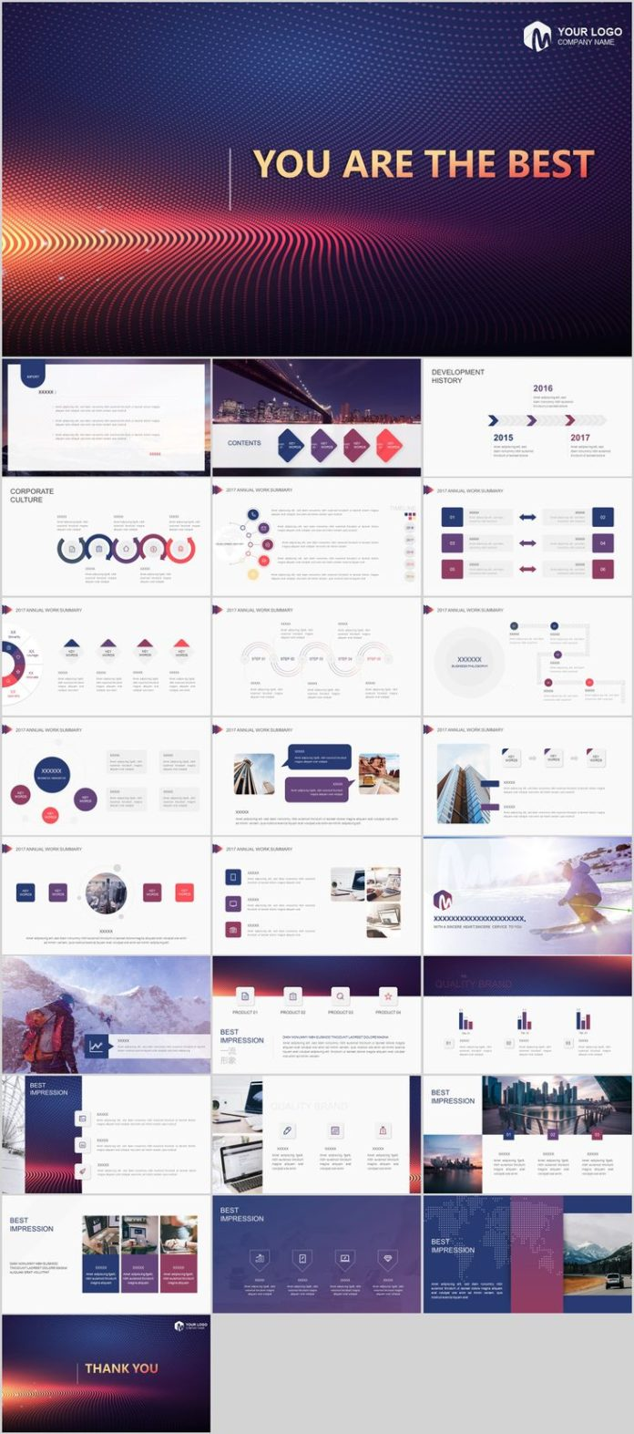 Business Infographic 26 Best Business Annual Design Powerpoint
