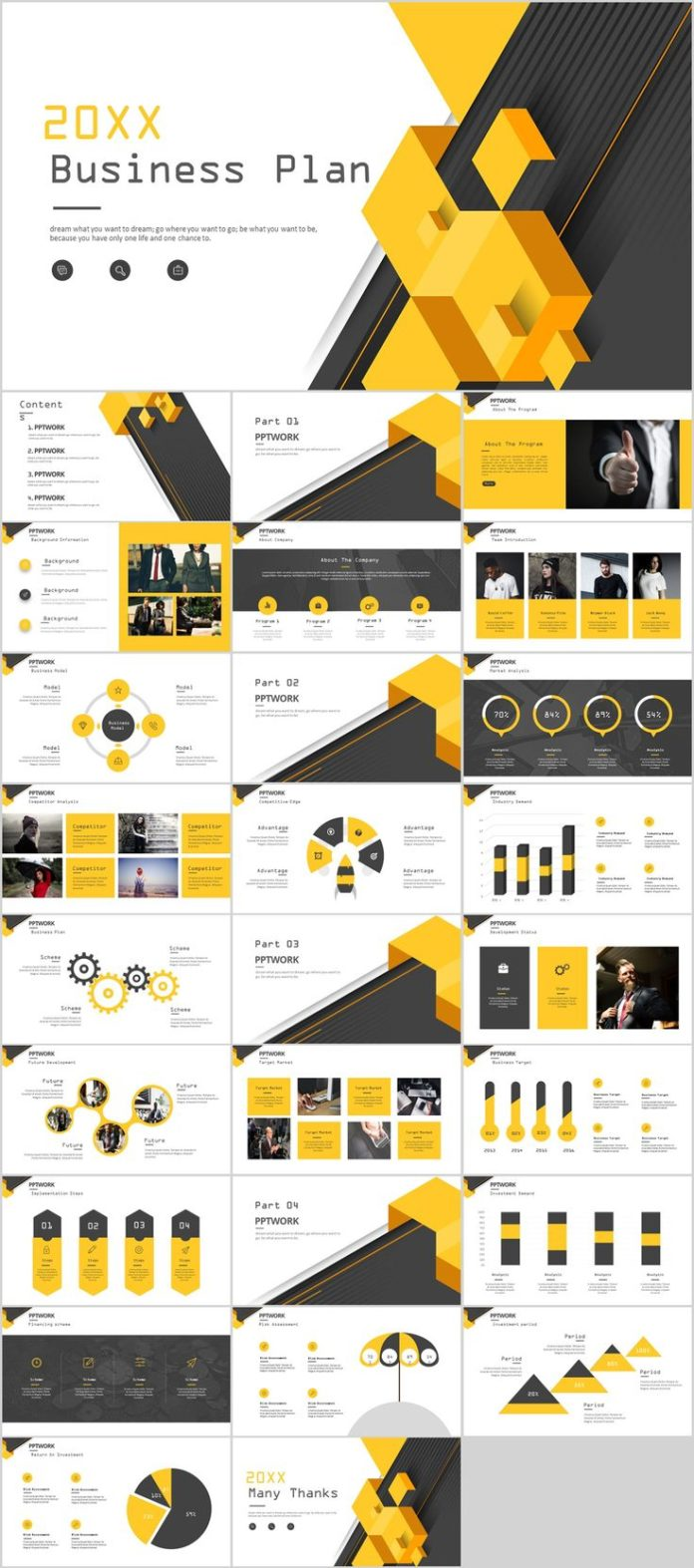 Business infographic 27 yellow business report plan powerpoint business infographic data visualisation toneelgroepblik Gallery