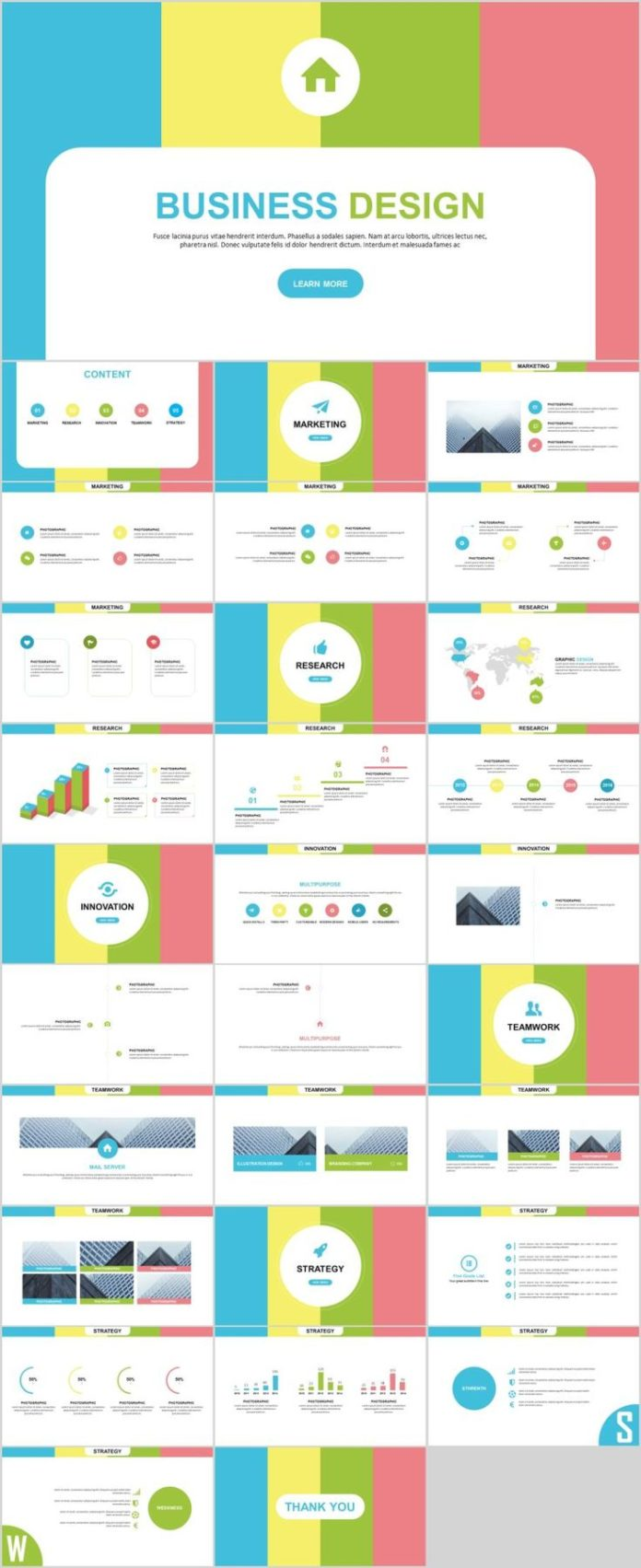 Business infographic 30 colourful busines report presentation business infographic data visualisation toneelgroepblik Image collections