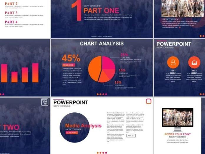 business infographic 4 in 1best creative charts designers