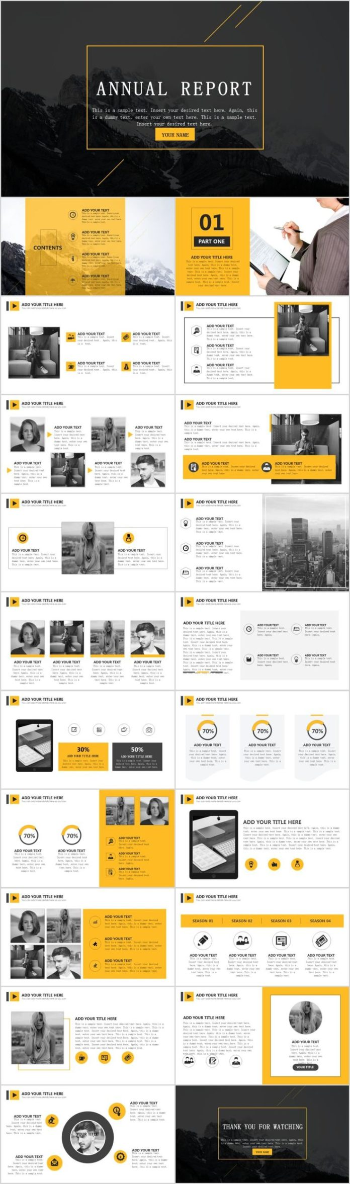report on yellow Annual and quarterly reports to yellow pages financial investors.
